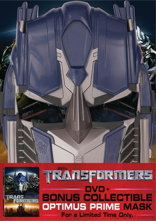Transformers (with Optimus Prime Mask) Movie