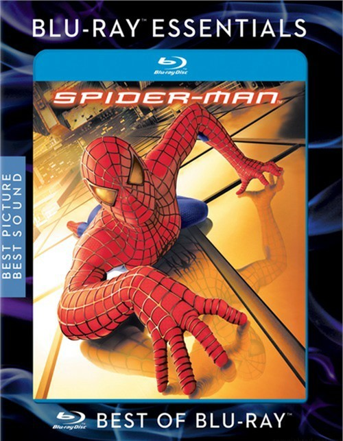 Spider-Man Blu-ray