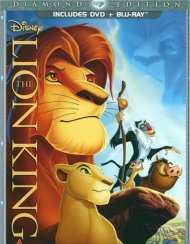Lion King, The: Diamond Edition (DVD + Blu-ray Combo) Blu-ray