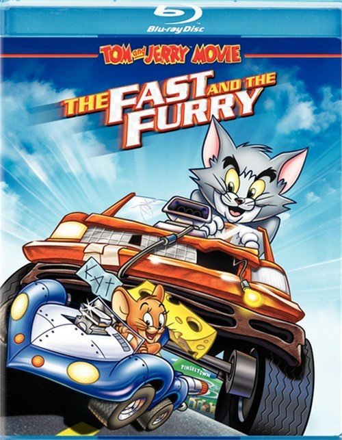 Tom And Jerry: The Fast And The Furry Blu-ray