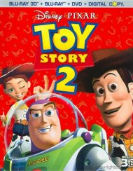 Toy Story 2 3D (Blu-ray 3D + Blu-ray + DVD + Digital Copy) Blu-ray