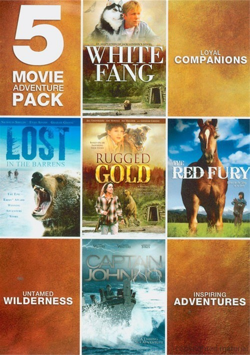 5 Features Adventure Movie Pack Movie