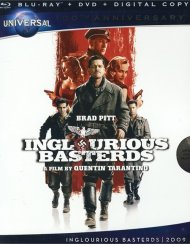Inglourious Basterds (Blu-ray + DVD + Digital Copy) Blu-ray