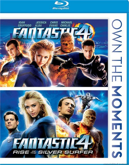 Fantastic Four / Fantastic Four: Rise Of The Silver Surfer (Double Feature) Blu-ray