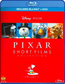 Pixar Short Films Collection: Volume 1 (Blu-ray + DVD) Blu-ray