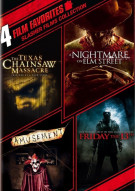 4 Film Favorites: Slasher Films Collection Movie