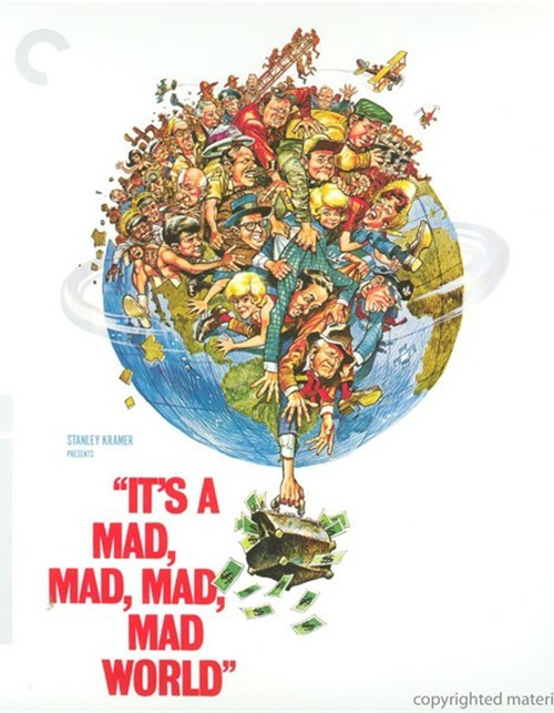 Its A Mad, Mad, Mad, Mad World: The Criterion Collection (Blu-ray + DVD Combo) Blu-ray