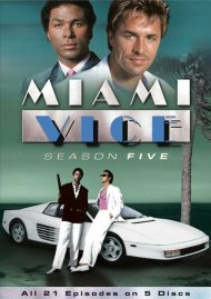 Miami Vice: Season Five (Repackage) Movie
