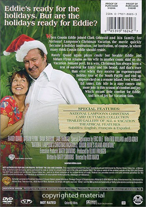 National Lampoon's Christmas Vacation 2 (DVD 2003)