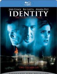Identity Blu-ray