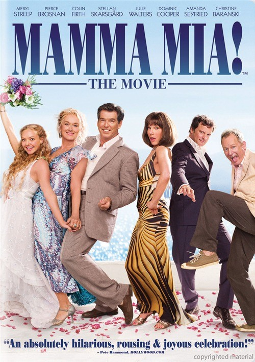 Mamma Mia! (Fullscreen) Movie