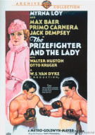 Prizefighter And The Lady, The Movie