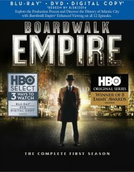 Boardwalk Empire: The Complete First Season (Blu-ray + DVD + Digital Copy) Blu-ray