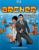 Archer: The Complete Season Three Blu-ray