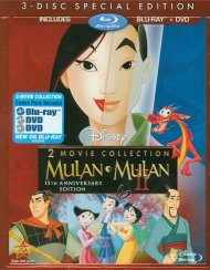 Mulan / Mulan II: 2 Movie Collection (Blu-ray + DVD Combo) Blu-ray