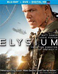 Elysium (Blu-ray + DVD + UltraViolet) Blu-ray