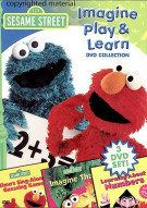 Sesame Street: Imagine, Play & Learn Box Set Movie