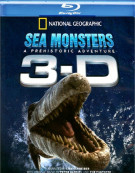National Geographic: Sea Monsters 3D Blu-ray
