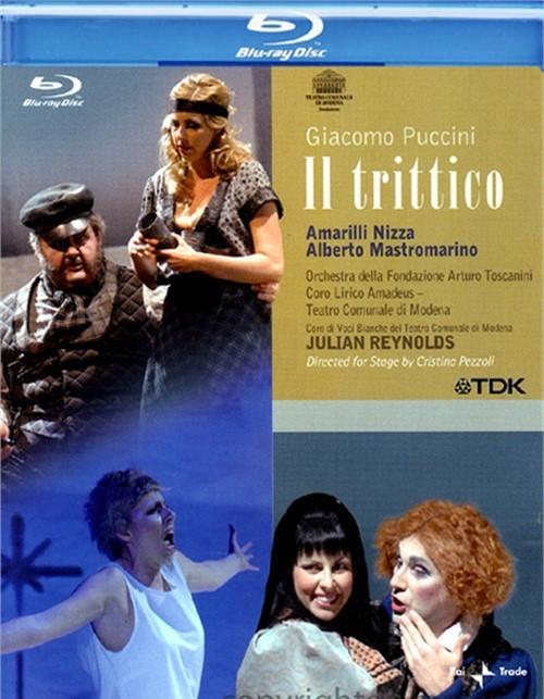 Giacomo Puccini: Il Trittico Blu-ray