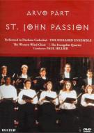 Arvo Pärt: St. John Passion Movie