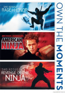 Rage Of Honor / American Ninja / Revenge Of The Ninja (Triple Feature) Movie