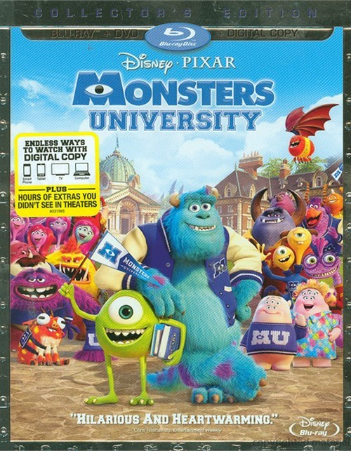 Monsters University (Blu-ray + DVD + Digital Copy) Blu-ray