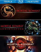 Mortal Kombat / Mortal Kombat 2 / Mortal Kombat: Legacy (Triple Feature) Blu-ray