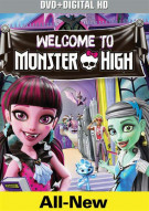 Monster High: Welcome To Monster High (DVD + UltraViolet) Movie