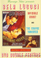 Bela Lugosi: Invisible Ghost / The Corpse Vanishes (Double Feature) Movie