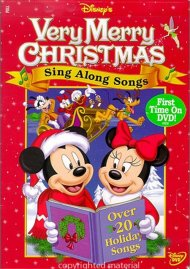 Disneys Very Merry Christmas Sing-Along Songs! Movie