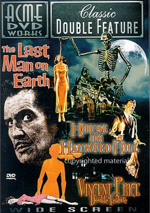 Vincent Price Double Feature: The Last Man On Earth / House On Haunted Hill Movie