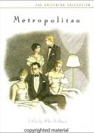 Metropolitan: The Criterion Collection Movie