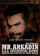 Complete Mr. Arkadin, The, A.K.A.: Confidential Report - The Criterion Collection Movie