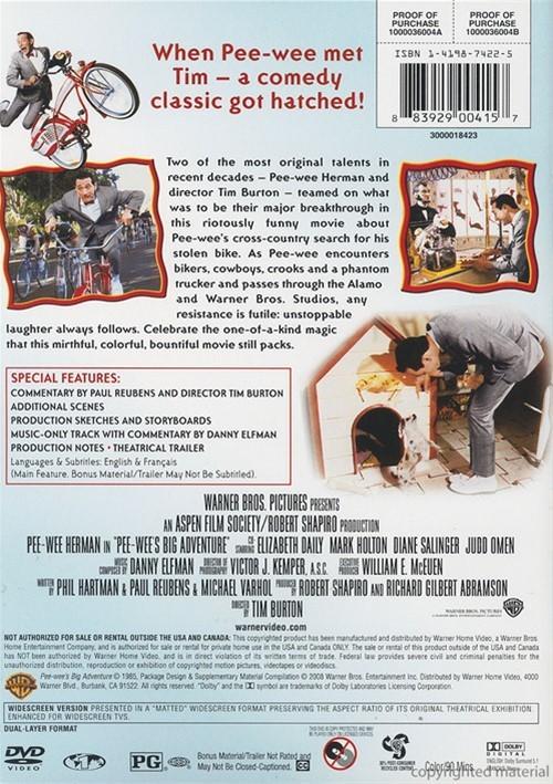 Pee-Wees irre Abenteuer Blu-ray: Amazonde: