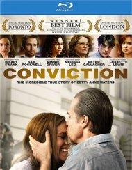 Conviction Blu-ray
