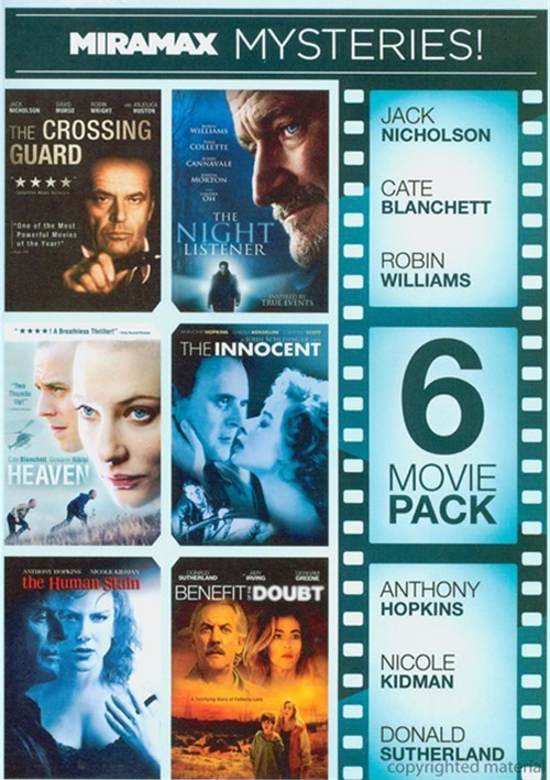 6 Movie Pack: Miramax Mysteries Movie
