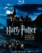 Harry Potter: Complete 8-Film Collection Blu-ray