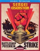 Sergei Eisenstein: Battleship Potemkin / Strike (Double Feature) Blu-ray