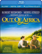 Out Of Africa (Blu-ray + Digital Copy + UltraViolet) Blu-ray
