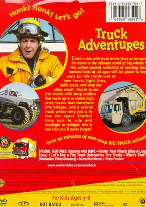 Real Wheels: Truck Adventures (DVD 1993) | DVD Empire