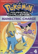Pokemon Advanced Challenge: Manectric Charge - Volume 4 Movie