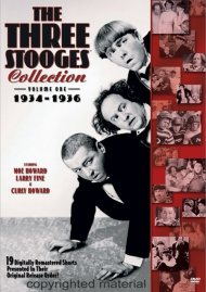 Three Stooges Collection, The: 1934 - 1936 - Volume One Movie