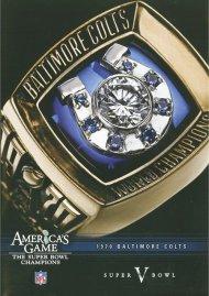 NFL Americas Game: Baltimore Colts Super Bowl V Movie