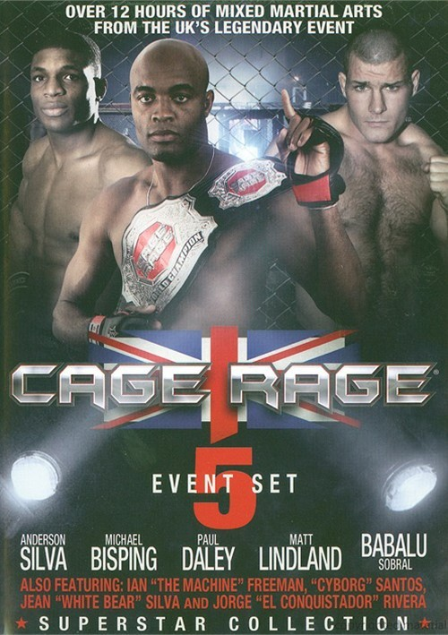 Cage Rage: The Superstar Collection (5 Events) Movie