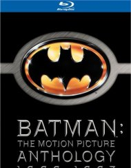 Batman: The Motion Picture Anthology 1989-1997 Blu-ray