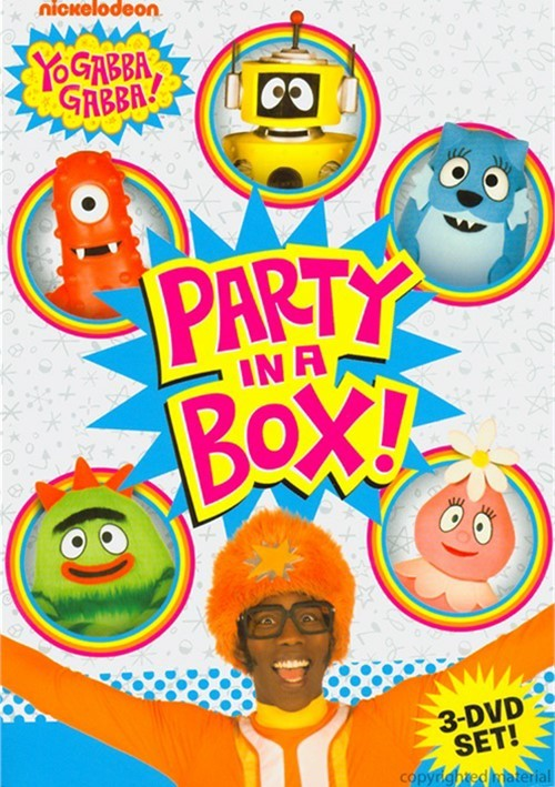 Yo Gabba Gabba: Party In A Box Collection Movie