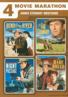 4 Movie Marathon: James Stewart Western Collection Movie
