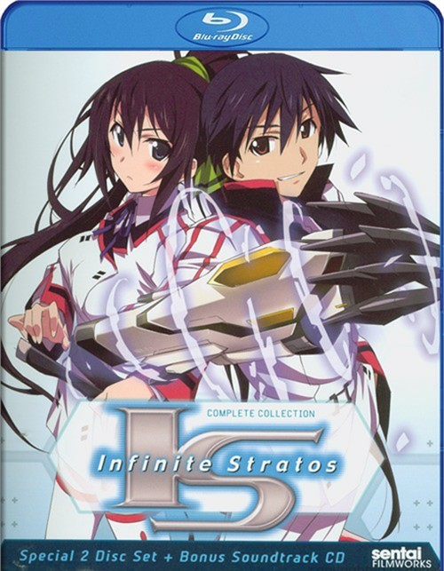 Infinite Stratos: The Complete Collection Blu-ray