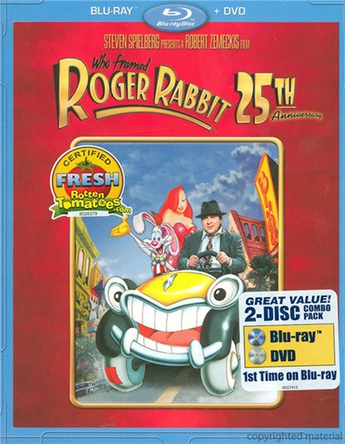 Who Framed Roger Rabbit: 25th Anniversary Edition (Blu-ray + DVD Combo) Blu-ray