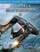 Star Trek Into Darkness 3D (Blu-ray 3D + Blu-ray + DVD + Digital Copy) Blu-ray